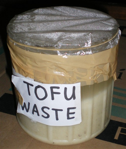 image of bioethanol science fair project tofu waste plus water