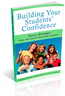 image of Building Student's Confidence: Proven Strategies - Easy & Quick Classroom Activities eBook