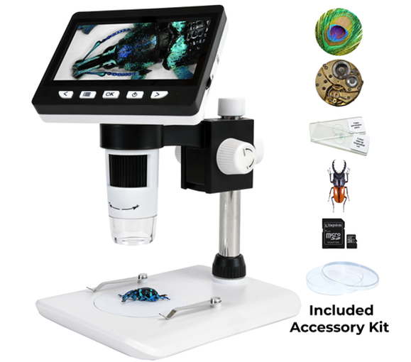 image of Digital Microscope with LED Monitor