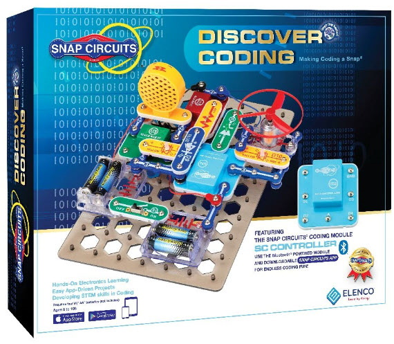 image of Discover Coding by Snap Circuits