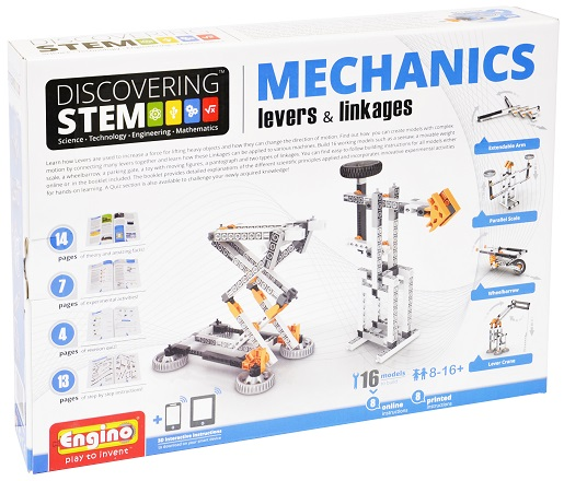 image of Engino Discovering STEM Mechanics Levers and Linkages