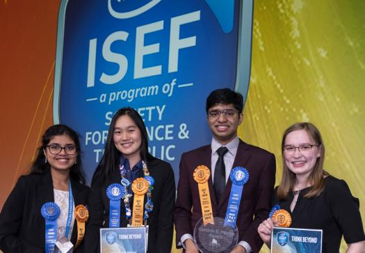 Intel ISEF 2019 Top Award Winners