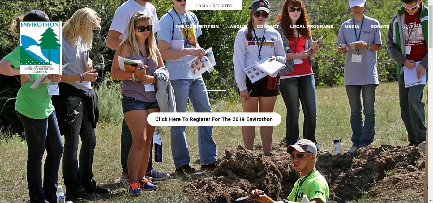 Canon Envirothon 2019 NCF-Envirothon Competition