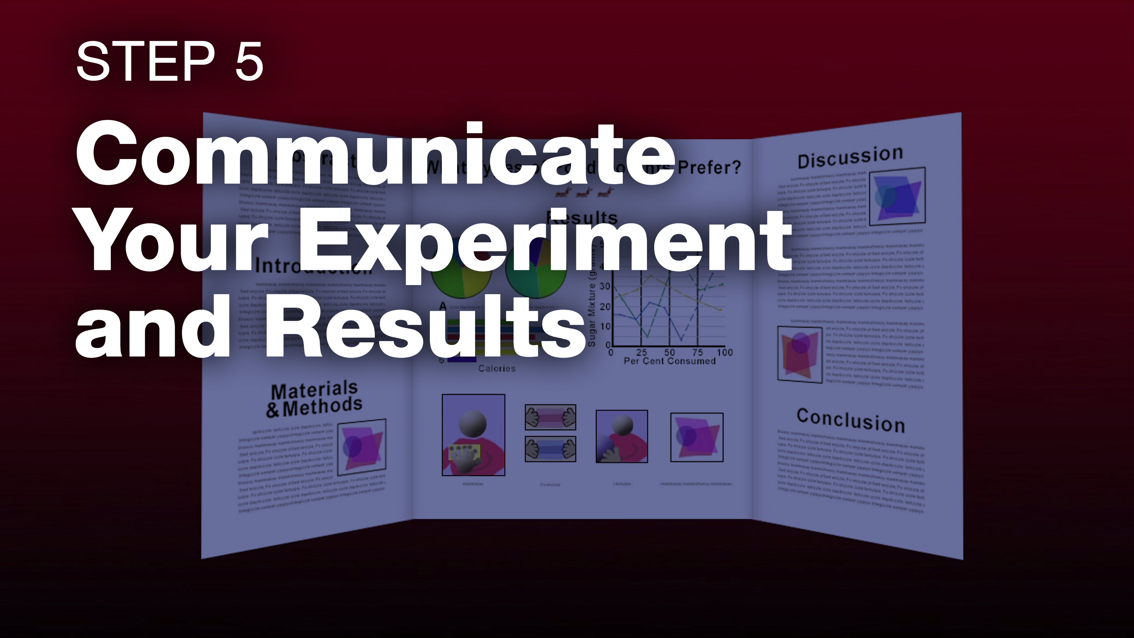 Visual Elements for Your Science Fair Project