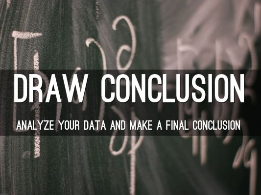 Draw Conclusions - The Scientific Method