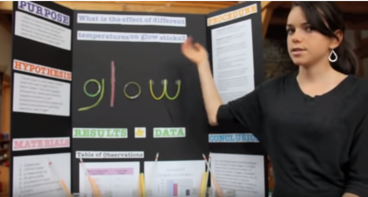 How to Give a Science Fair Verbal Presentation