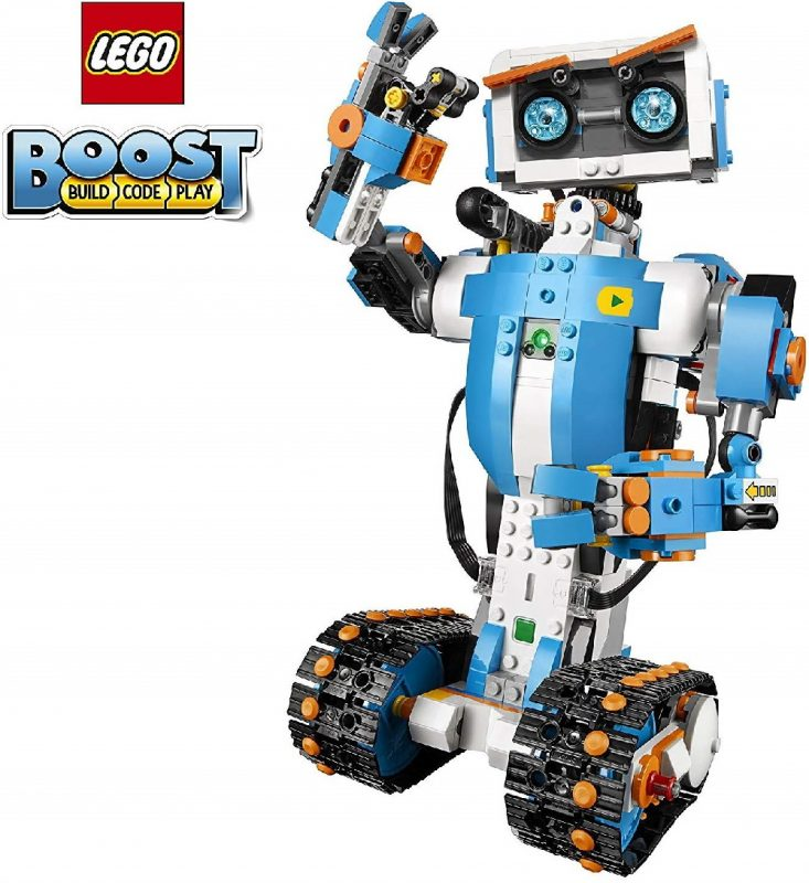 LEGO Boost Creative Toolbox Robot Building Coding Kit for Kids