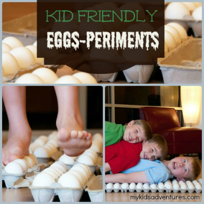 Walking on Eggs Experiments and Projects