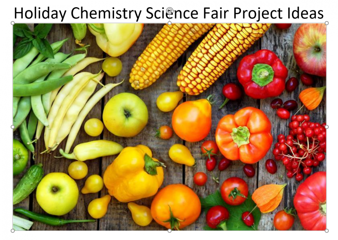 Holiday Chemistry Science Fair Project Ideas