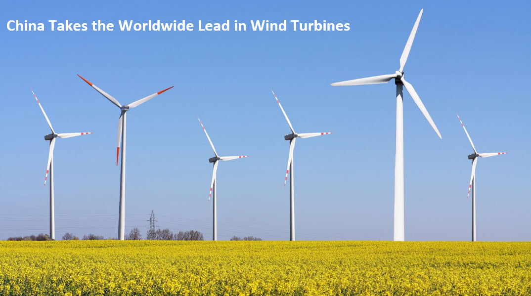 China Worldwide Lead in Wind Turbine