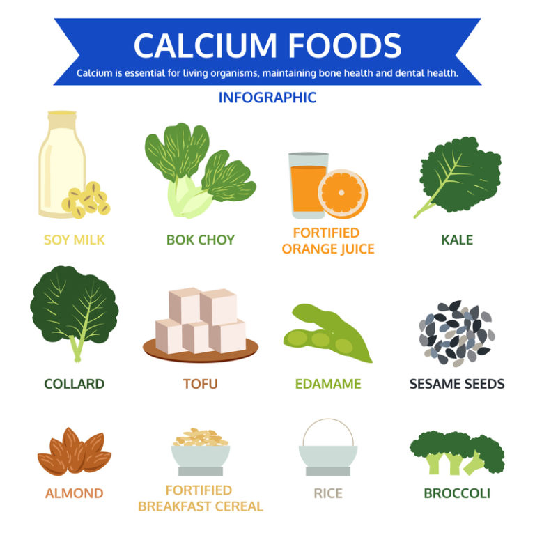 Calcium Rich Food Chart