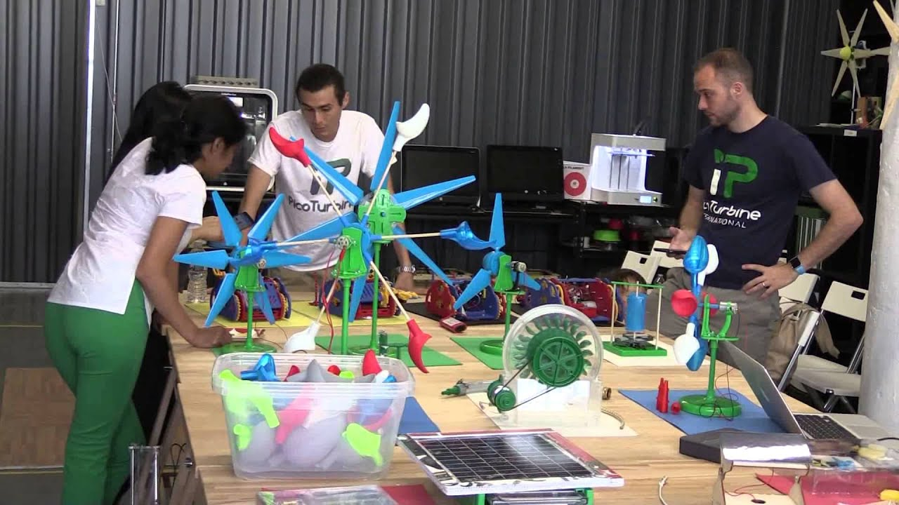 PicoTurbine Wind Turbines in the Classroom