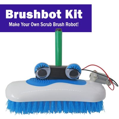 Build a Brushbot for a Robo Holiday Project