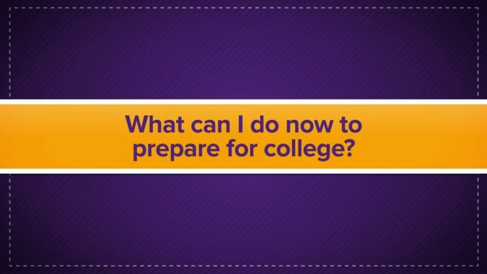 What to Do To Prepare for College