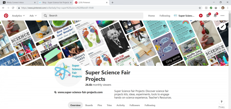 SuperScience Fair Projects on Pinterest