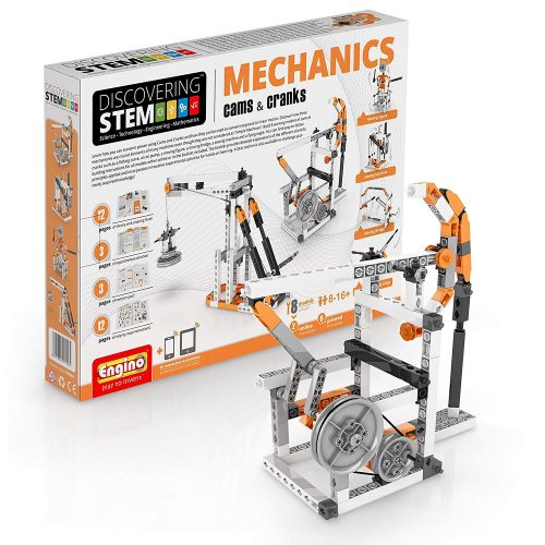 Engino STEM Cams and Cranks Building Kit