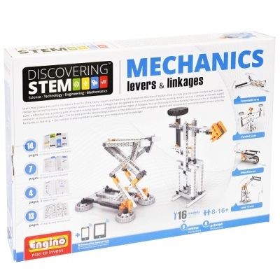 Engino Discovering STEM Mechanics Levers & Linkages
