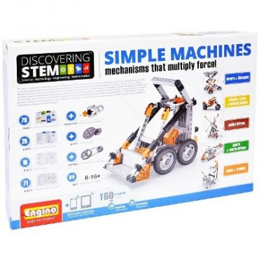Engino Discovering STEM Simple Machines Mechanisms That Multiply Force Kid's Building Kit