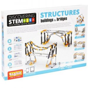 Engino Discovering STEM Structures Buildings & Bridges Kid's Building Set