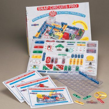 Educational Snap Circuits Model SC-500S w/ Computer Interface | Electricity Electronics Science Fair Projects & Experiments