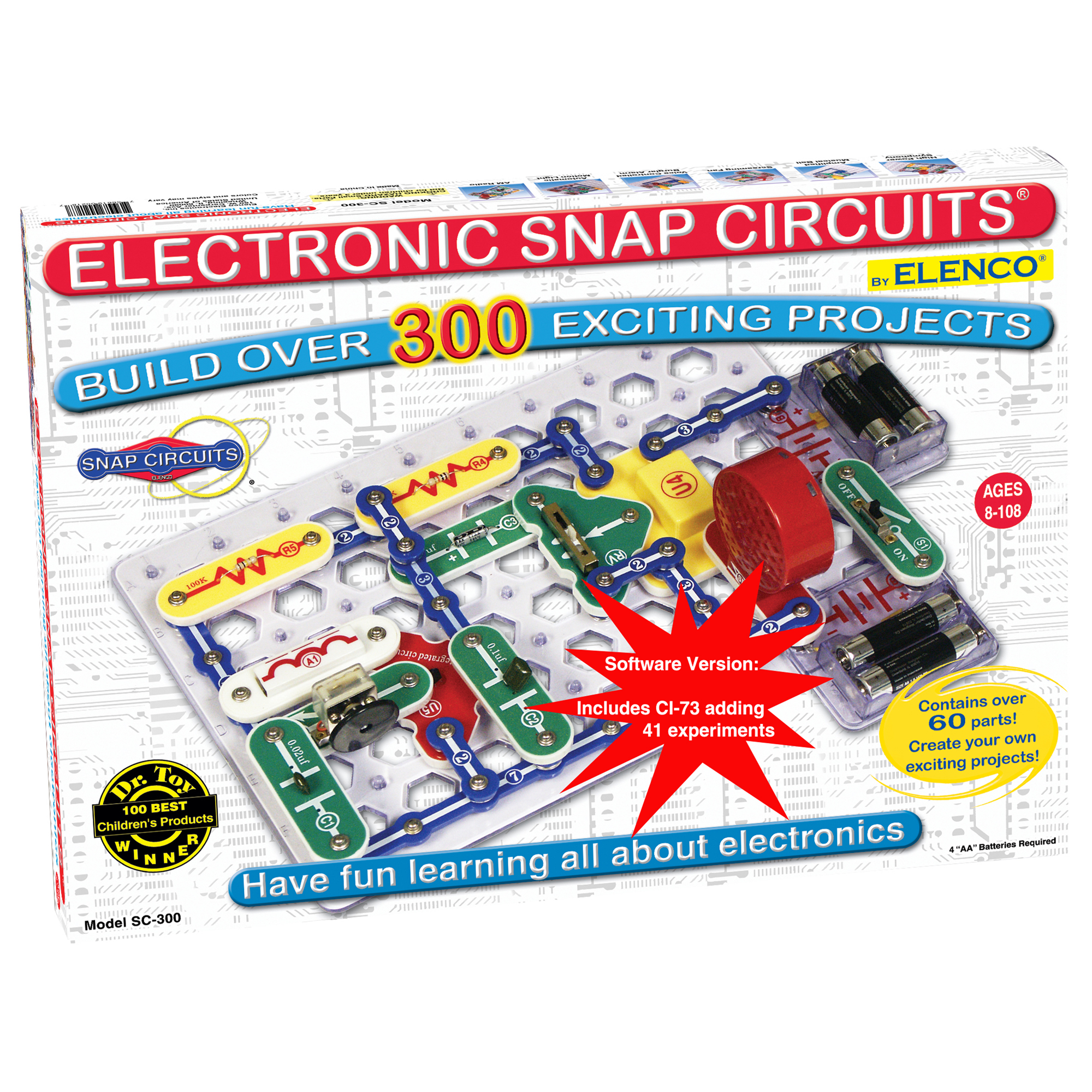 SC300s Snap Circuits w/ Computer Interface