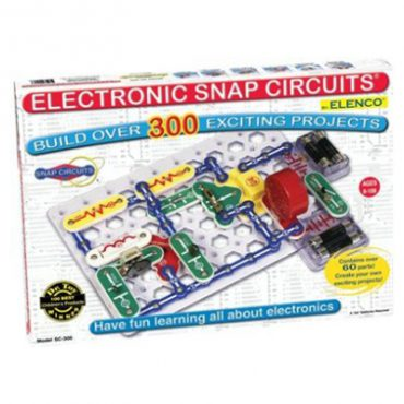 Science Fair Projects with Electronics & Electricity  Educational Snap Circuits Model SC-300S Experiments