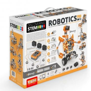 ENGSTEM-70 Engino Discovering STEM ERP PRO Bluetooth Robotics Building Kit