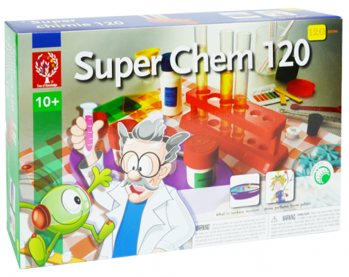 EDU8355 Super Chem 120 Science Kit | Tree of Knowledge Chemistry Scientific Experiment Kit