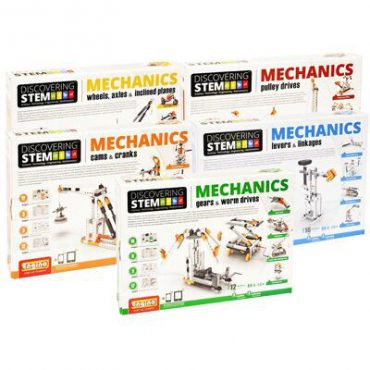Engino Mechanical STEM Series With Curriculum – Package of 5 Kits Discounted