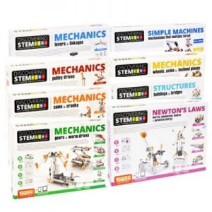 Engino Discovering STEM Engineering Educational Science Kits for Kids Ages 6 - 14