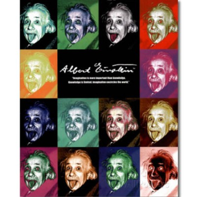image of men in science posters