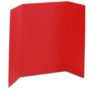 1-Ply Red Science Fair Display Boards
