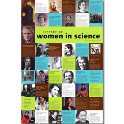 image of women in science