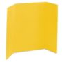 yellow science fair display boards