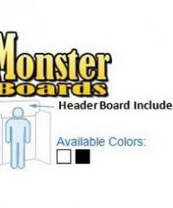 "Monster Science Fair Project Display Trifold Boards 71"" Tall x 42"" Wide"