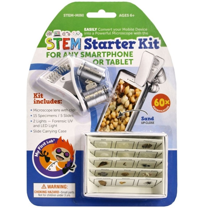 STEM Starter Kit Connects to Your SmartPhone