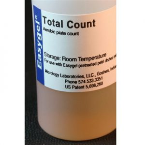 image of Total Count EasyGel Bottle Label
