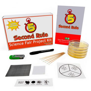 5 Second Rule Science Fair Projects Microbiology Kit