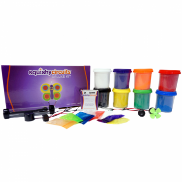 Squishy Circuits Deluxe Kit – Electricity/Electronics Science Fair Projects