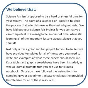 Hand Sanitizer Vs Bacteria Science Fair Project Kit
