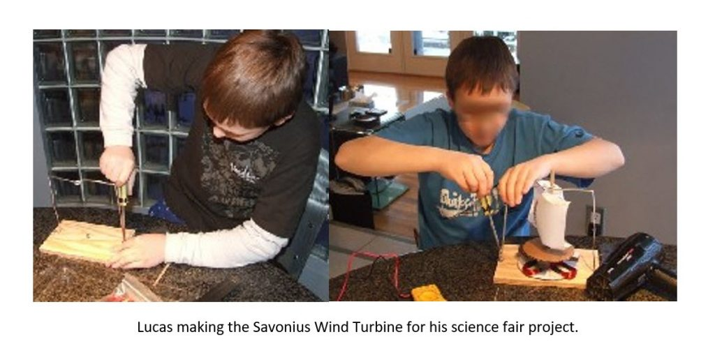 Lucuas Science Fair Projects with Wind Turbines