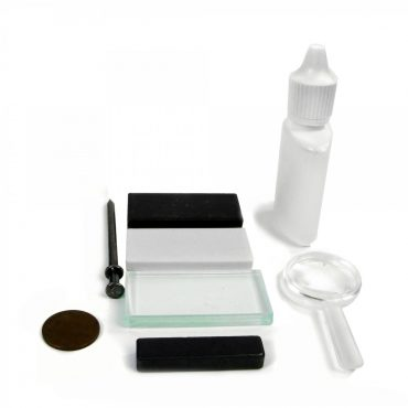 Mineral Test Kit For Mineral, Rock, Fossil Identification