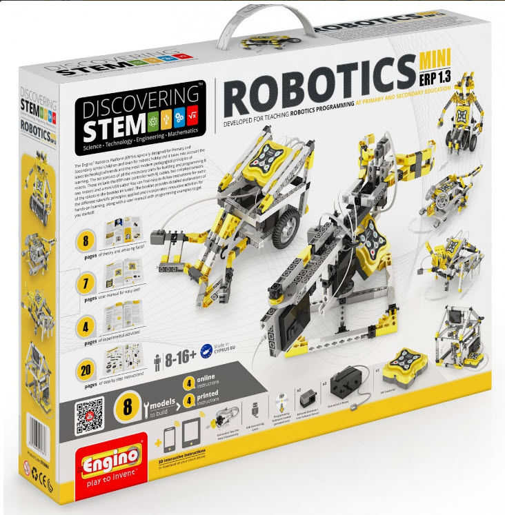 Engino ENGSTEM60 Stem Robotics ERP MINI