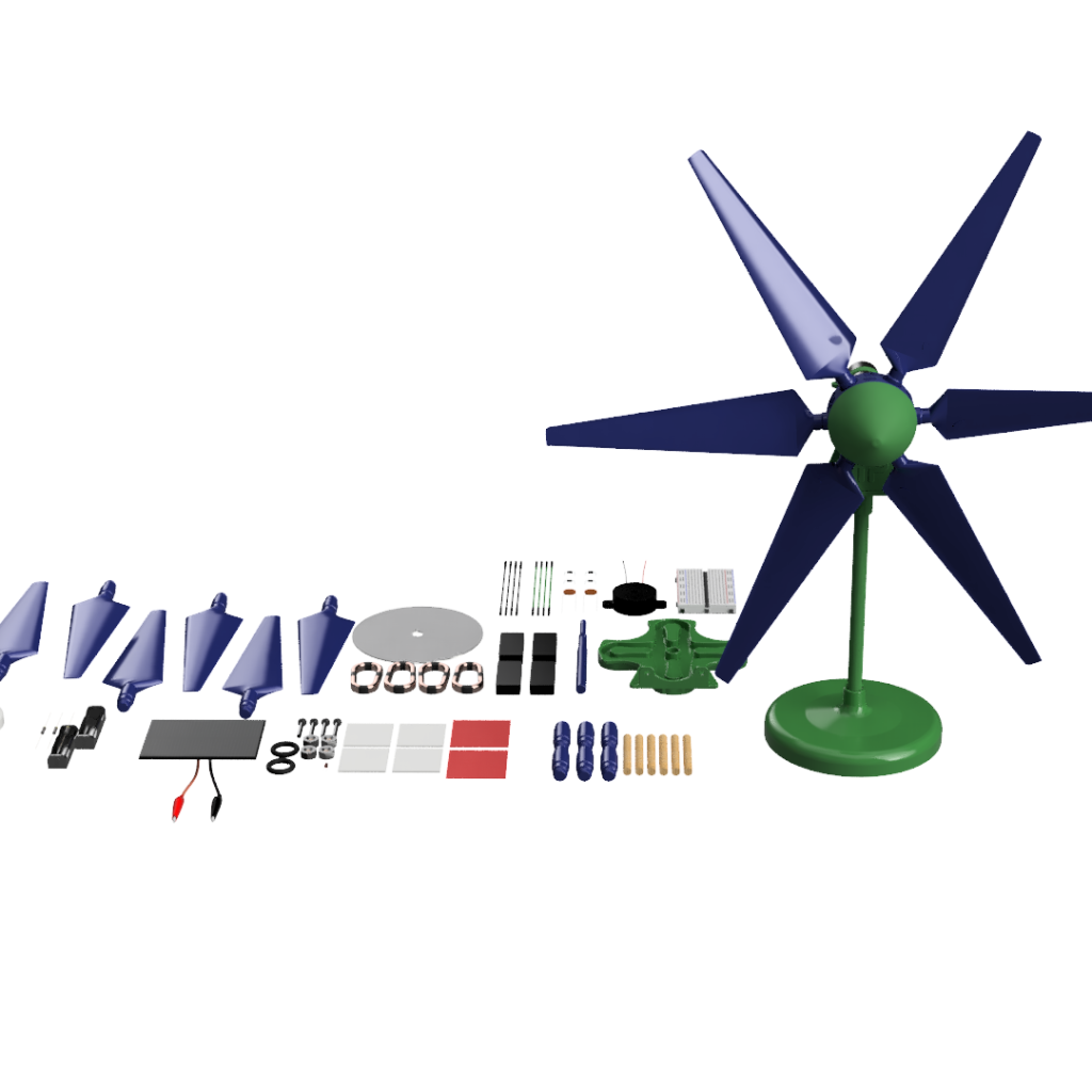 Alternative Education Wind, Solar, Hydro & Electricity Lab Kit