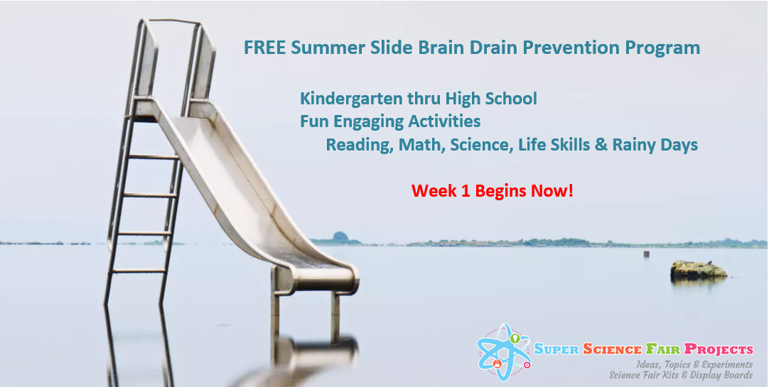 FREE Summer Slide Brain Drain Prevention Program Week 1