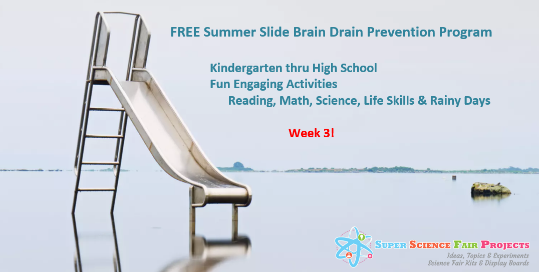 Summer Slide Activities Week 3 PreSchool thru High School