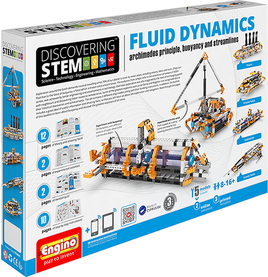 Engino Fluid Dynamics ENGSTEM45 Building Kit - Box Cover