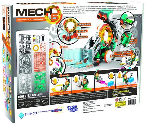 Mech 5 Programmable Coding Robot Functions