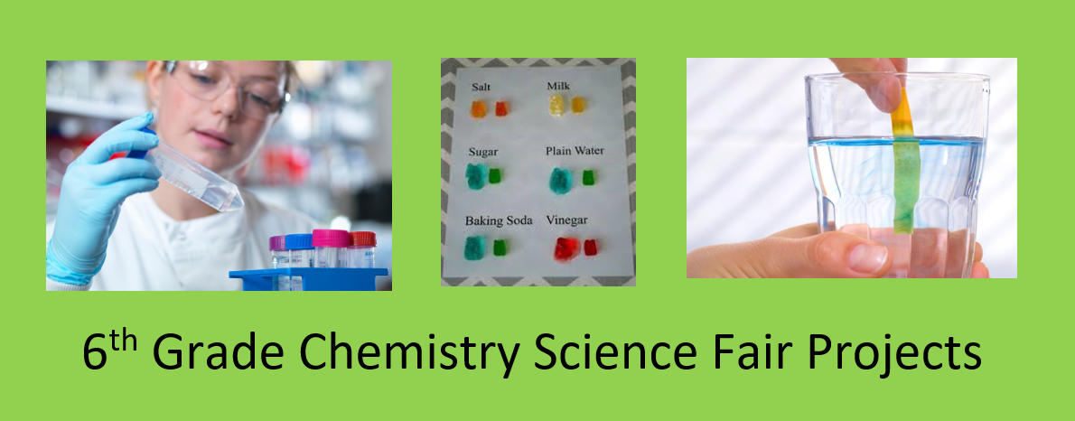 6th Grade Chemistry Science Fair Projects
