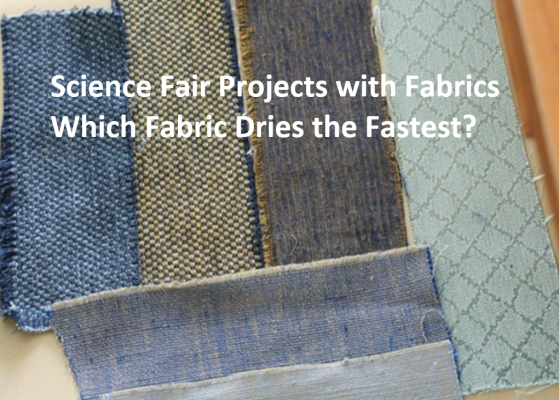 Science Fair Project with Fabrics Abstract